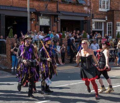 morris dancers at Hessle Feast
